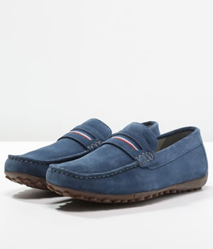 Mocasini Barbati Geox Blue