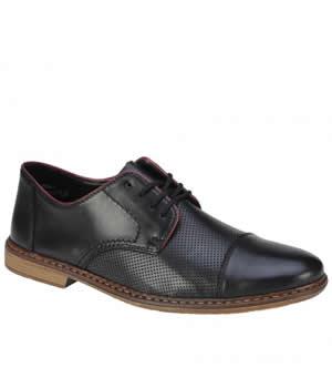 Pantofi Barbati Piele Rieker Perforati