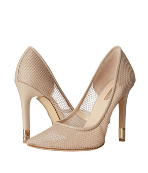Pantofi Cu Toc Guess Eleganti Cu Plasa