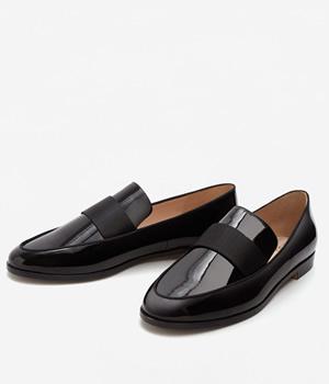 Pantofi Dama Lac Fara Toc Mango