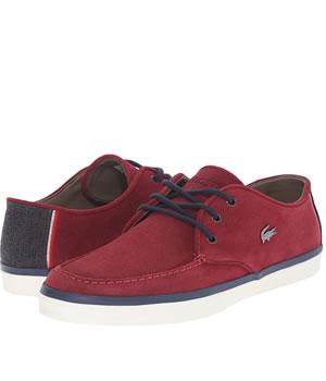 Pantofi Lacoste Casual Piele Intoarsa Barbati
