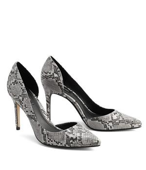 Pantofi Stiletto Mango Piele Reptila
