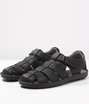 Sandale Barbati Geox Casual Negre