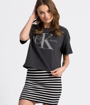 Tricou dama Calvin Klein scurt